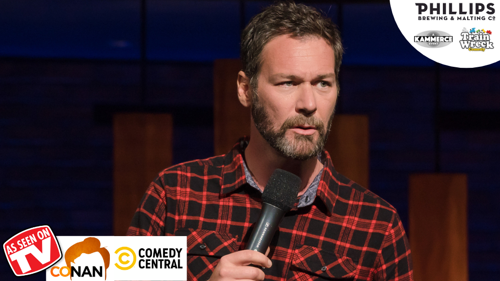 Jon Dore Special Event Lake Country Creekside Theatre October 8, 2021 Train Wreck Comedy